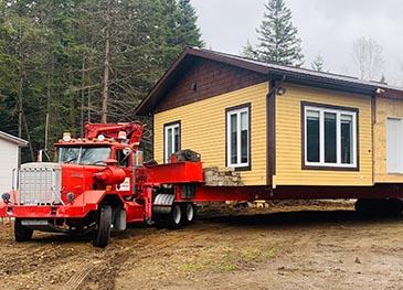 transport de bâtiment